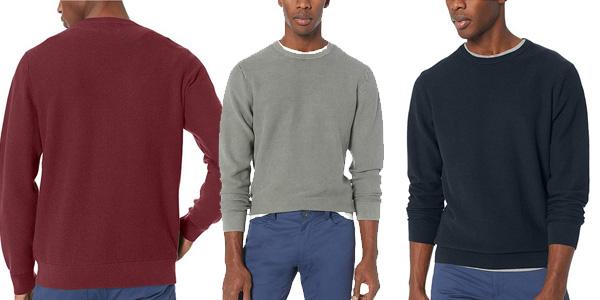 Jersey de algodón Suave y punto térmico Goodthreads de Amazon para hombre barato