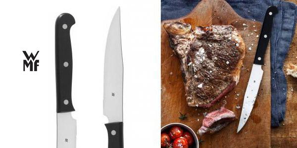 Set Cuchillos Carne WMF Kansas 6 Piezas chollo en Amazon
