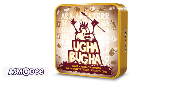 Juego de cartas Ugha Bugha (Asmodee CGUG0001) barato en Amazon
