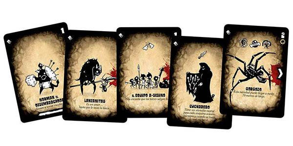 juego de estrategia con cartas Tres Hurras por el amo chollo