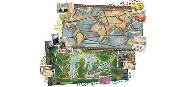 Juego de mesa ¡Aventureros al Tren! Expansión Ticket to Ride: Reino Unido + Pensilvania chollo en Amazon