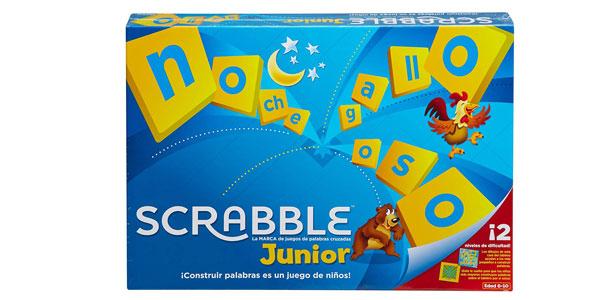 Juego de mesa Scrabble Junior (Mattel Games Y9669) para niños barato en Amazon