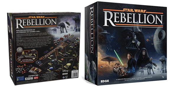 Juego de mesa Star Wars Rebellion (EDGSW03) barato en Amazon