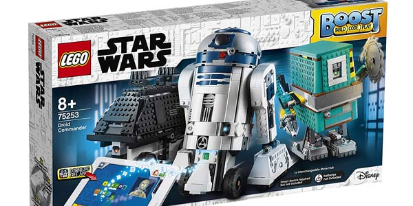 Comandante Droide LEGO Star Wars Boost R2-D2 barato en Amazon