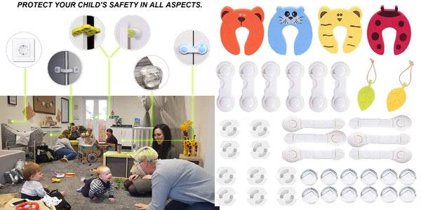 Kit de 40 Piezas de seguridad Yompz para bebés barato en Amazon