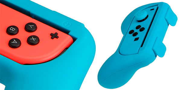 Kit AmazonBasics de empuñaduras para mandos Joy-Con de Switch barato