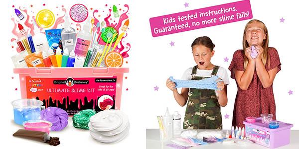kit de elaboración de slime infantil oferta