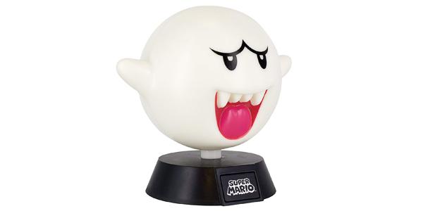 Lámpara LED Boo Super Mario barata en Amazon