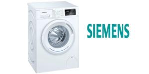Lavadora de carga frontal Siemens WM12N268ES de 8 Kg y 1.200 rpm barata en El Corte Inglés