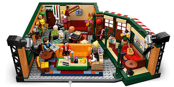 LEGO Friends Central Perk set de construcción barato