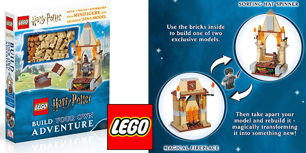 LEGO Harry Potter Build your own adventure chollo