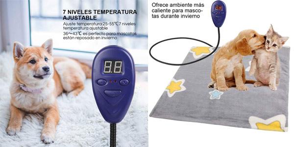 Manta Eléctrica Zacro para Mascotas chollo en Amazon