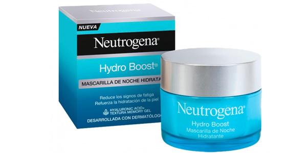 Mascarilla hidratante de noche Neutrogena Hydro Boost de 50 ml barata en Amazon