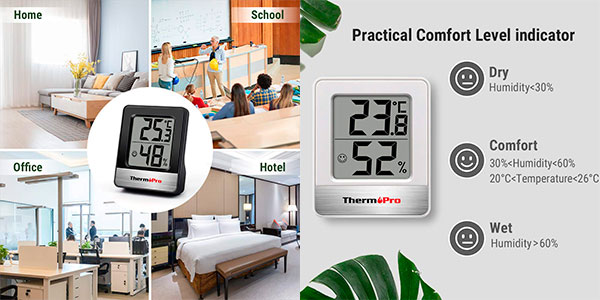 Mini Termohigrómetro digital ThermoPro TP49 barato