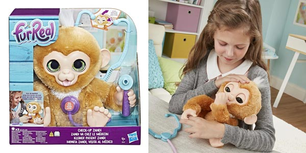Comprar Monita Zandi Visita Al Médico de Furreal Friends (Hasbro) chollo en Amazon