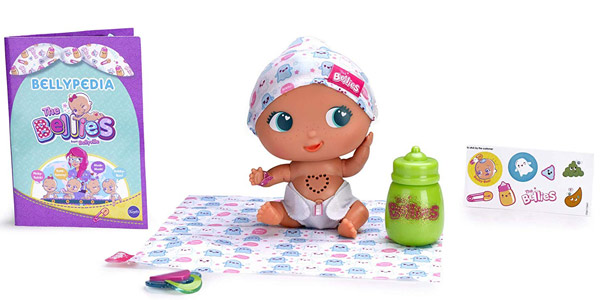 Muñeco interactivo The Bellies Bobby-Boo (Famosa 700014556) barato en Amazon
