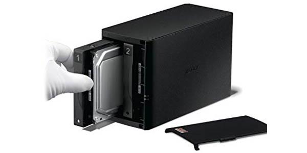 NAS Buffalo LinkStation 520 2-Bay de 8 TB en Amazon
