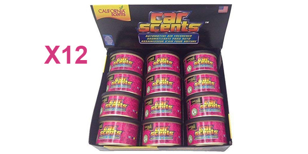 Pack x12 ambientadores Coronado Cherry para coche, oficina y hogar barato en Amazon