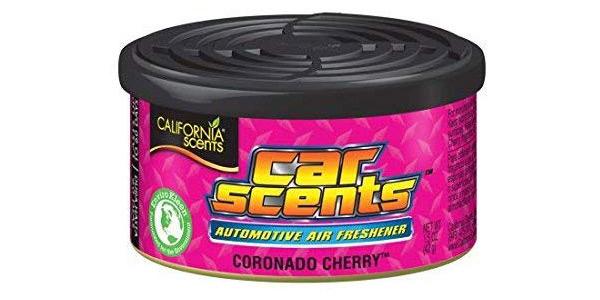 Pack x12 ambientadores Coronado Cherry para coche, oficina y hogar chollo en Amazon