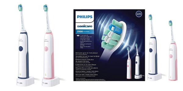 Pack de 2 cepillos de dientes eléctricos Philips Sonicare CleanCare HX3212/61 al mejor precio en Amazon