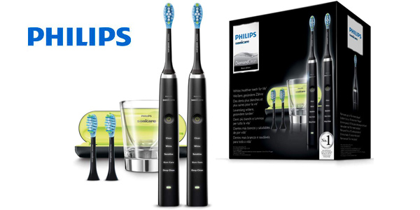 Pack x2 Philips Sonicare DiamondClean HX9354/38 barato en Amazon