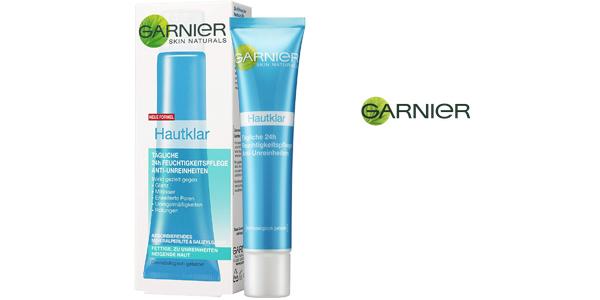 Pack x3 Crema hidratante facial anti-impurezas de Garnier 24 h para pieles grasas chollazo en Amazon