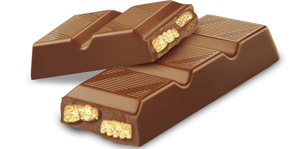 Pack x4 tabletas 300 gr de chocolate con leche suizo con trozos de galletas Amazon Solimo chollo en Amazon