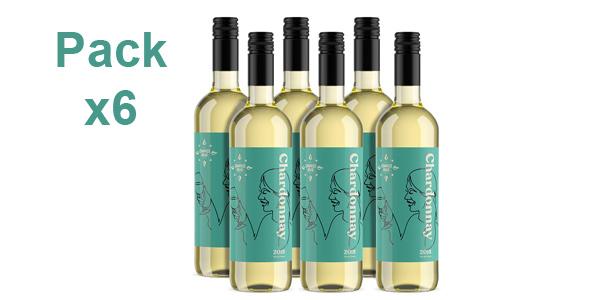 Pack x6 Botellas de Vino Chardonnay Compass Road de 750 ml barato en Amazon