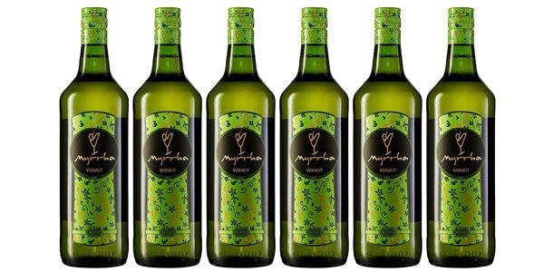Pack x6 Botellas Vermouth Myrrha Blanco de 1L barato en Amazon