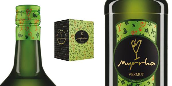 Pack x6 Botellas Vermouth Myrrha Blanco de 1L chollo en Amazon