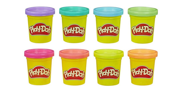 Pack de 8 botes de plastilina Play Doh al mejor precio
