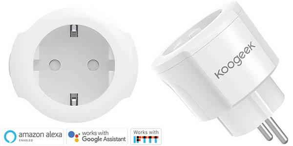 Pack 2 x Enchufe WiFi Koogeek Mini Smart Plug