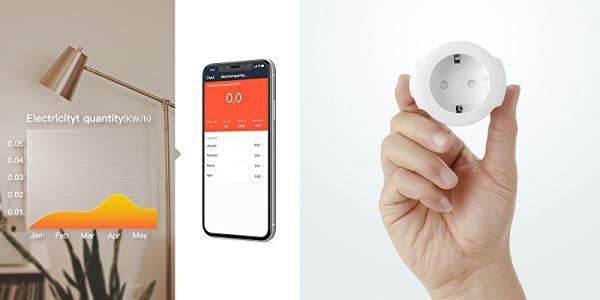 Pack 2 x Enchufe WiFi Koogeek Mini Smart Plug barato