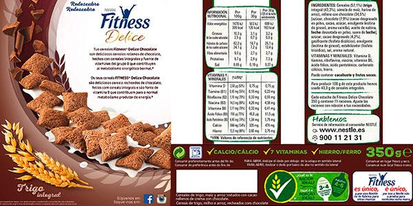 Pack de cereales Nestlé Fitness Delice barato