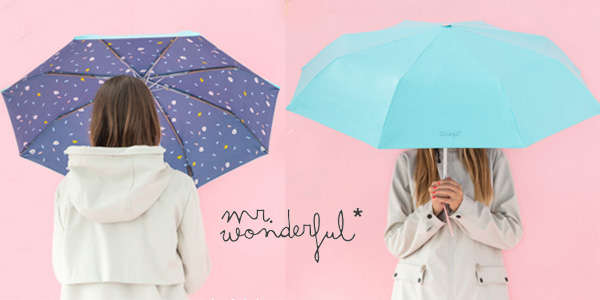 Paraguas mediano Mr. Wonderful con estampado interior barato en Amazon