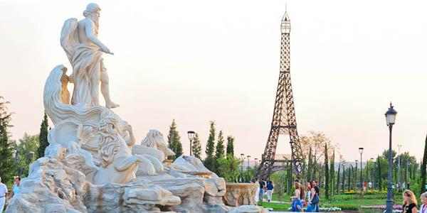 Parque Europa Madrid escapada barata
