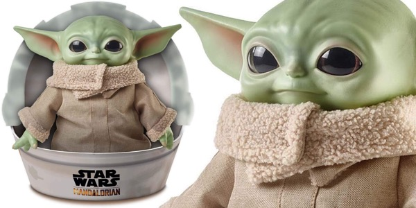 Peluche The Child Bebé Yoda Baby Yoda Mandalorian barato