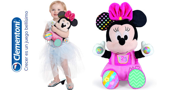 Peluche Disney Baby Minnie (Clementoni 55325) barato en Amazon