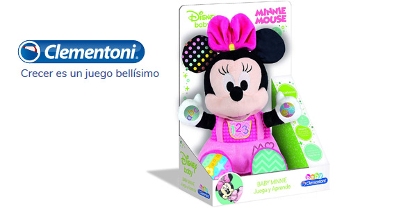 Peluche Disney Baby Minnie (Clementoni 55325) chollo en Amazon
