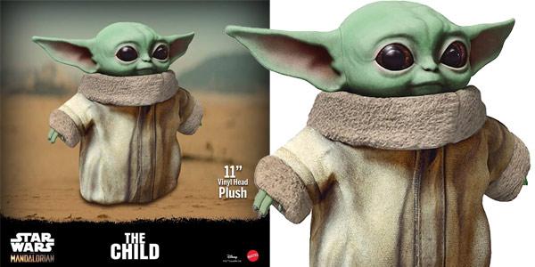 Peluche The Child Bebé Yoda El Mandaloriano de 28 cm chollo en Zavvi