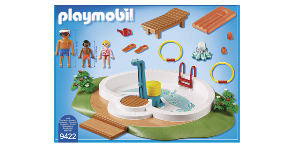 Playmobil Family Fun Piscina con Bomba de Agua para la Ducha chollazo en Amazon