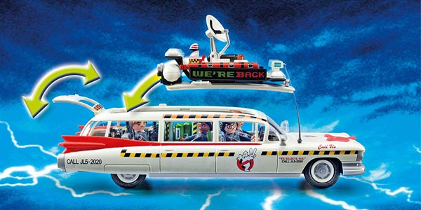 Playmobil Ghostbusters Ecto-1A con luz y sonido (70170) chollazo en Amazon