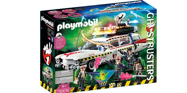 Playmobil Ghostbusters Ecto-1A con luz y sonido (70170) chollo en Amazon