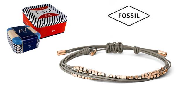 Pulsera Fossil JA6534791 con acero inoxidable para mujer barata en Amazon