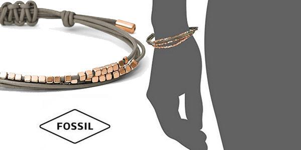 Pulsera Fossil JA6534791 con acero inoxidable para mujer chollo en Amazon