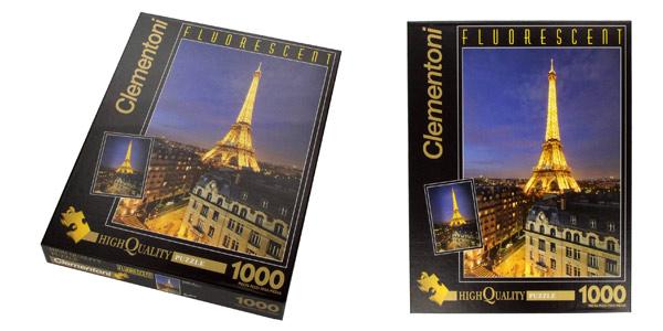 Puzle de 1.000 piezas Clementoni París Fluorescent Collection (392100) barato en Amazon
