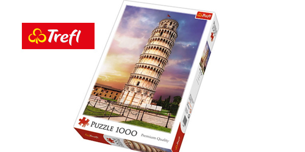 Puzle 1000 piezas Torre de Pisa (10441) barato en Amazon