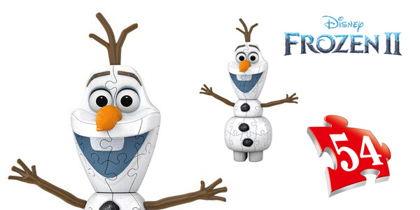Puzle 3D Olaf Frozen 2 Ravensburger 11157 chollo en Amazon