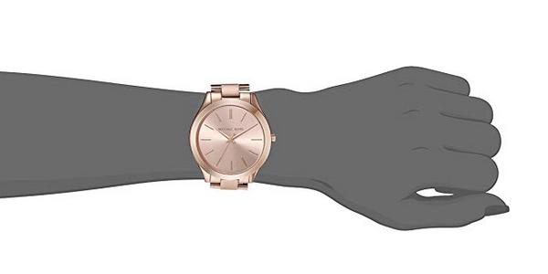 Reloj de mujer Michael Kors MK3197 Runway oro rosa chollo en Amazon