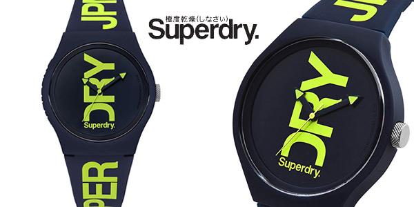 Reloj analógico Superdry SYG189UN para hombre barato en Amazon